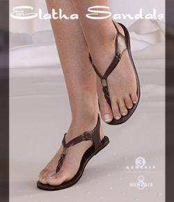 DMs Elatha Sandals