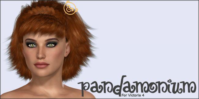 Pandamonium Hairpins V4