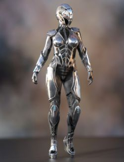 Supersonic Sci-Fi Suit for Genesis 8 Female(s)