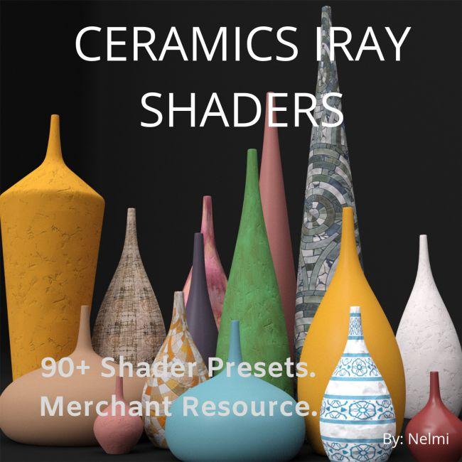 Ceramics Iray Shaders - Merchant Resource