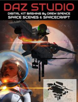 Digital Kit Bashing: Space and Spaceships