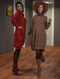 dForce Eloise Outfit Textures