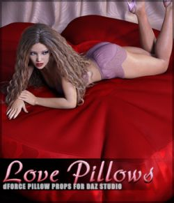 dForce Love Pillow Props