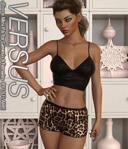 VERSUS - dForce Mini PJs for Genesis 8 Females