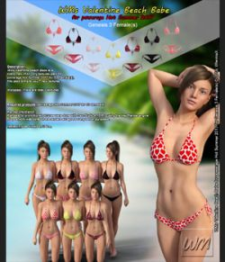 WMs Valentine Beach Babe for Hot Summer 2017 for Genesis 3 Females