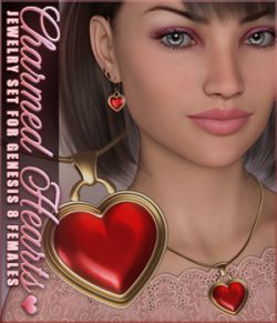 SVs Charmed Hearts Jewelry Set
