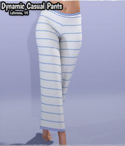 Dynamic Casual Pants La Femme  and V4