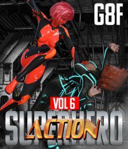 SuperHero Action for G8F Volume 6