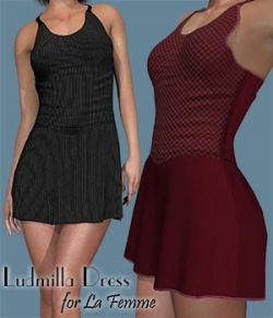 Ludmilla Dress for La Femme