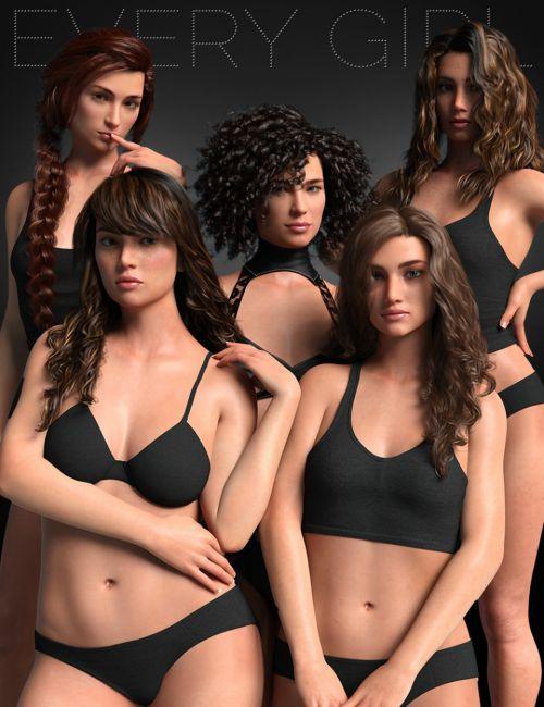 Every Girl HD Kit for Genesis 8 & 3 Female