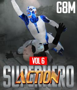 SuperHero Action for G8M Volume 6