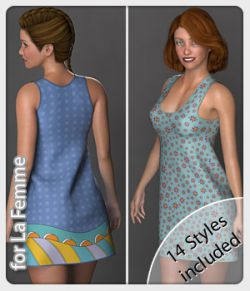 Isa Dress and 14 Styles for La Femme