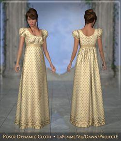 FRQ Dynamics: Regency Dress
