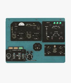 Mi-8MT Mi-17MT Right Overhead Panels Board English - Extended License
