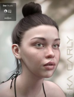 Carly HD for Genesis 8 Female