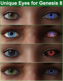 Unique Eyes for Genesis 8