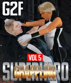 SuperHero Grappling for G2F Volume 5