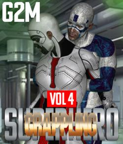 SuperHero Grappling for G2M Volume 4