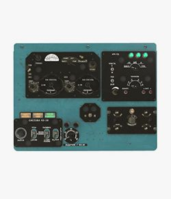 Mi-8MT Mi-17MT Right Overhead Panels Board Russian - Extended License