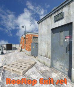 Rooftop Exit set