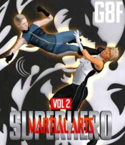 SuperHero Martial Arts for G8F Volume 2