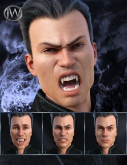 Darkness- Expressions for Genesis 8 Male and Landon 8