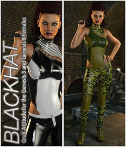 BLACKHAT- CruX Attitude for the Genesis 3 and Genesis 8 Females