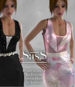 SasS Louise Dress La Femme