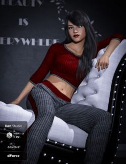dForce Jenna Outfit Textures