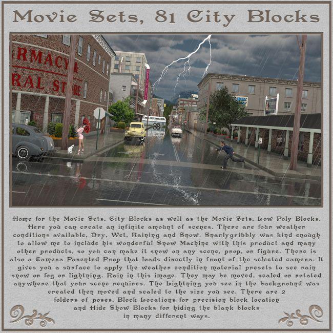 Movie Sets, 81 City Blocks