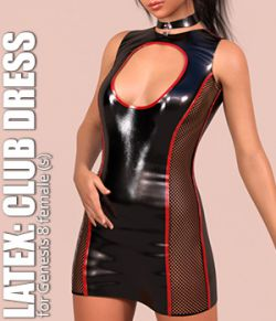 Latex: Club Dress