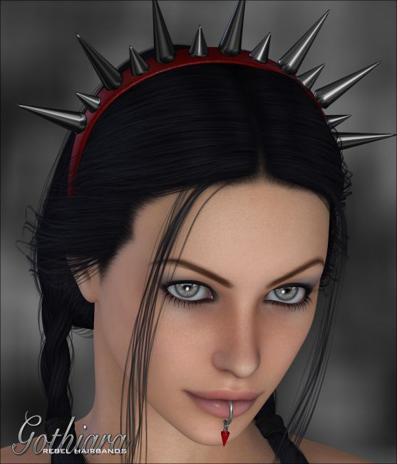 Gothiara - Rebel Hairbands