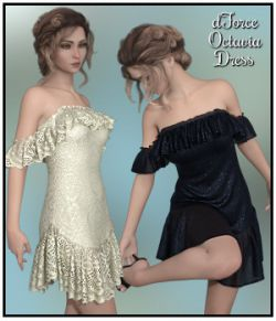 dForce - Octavia Dress for G8F