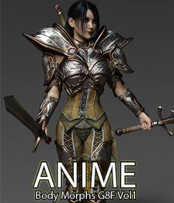 Anime Body Morphs for G8F Vol 1