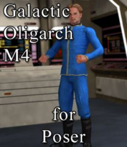 Galactic Oligarch M4 for Poser
