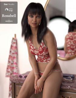 Rosabell HD And Lounge Wear For Genesis 8 Female