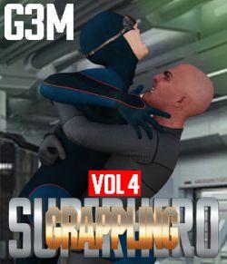 SuperHero Grappling for G3M Volume 4
