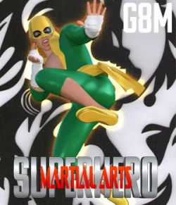 SuperHero Martial Arts for G8M Volume 1