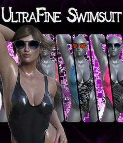 dForce UltraFine Swimsuit for Genesis 8 Females