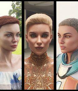 Neat Haircut Hair For Genesis 8 Female
