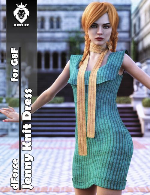 JMR dForce Jenny Knit Dress for G8F