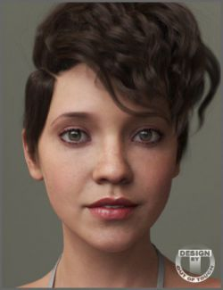 Tia Hair for Genesis 3 and 8 Female(s)