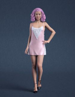 dForce Party Outfit for Genesis 8 Female(s)