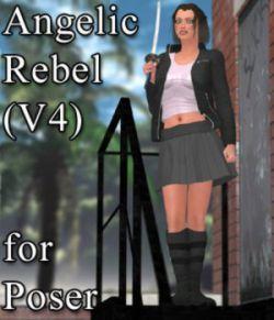 Angelic Rebel for V4 and Poser
