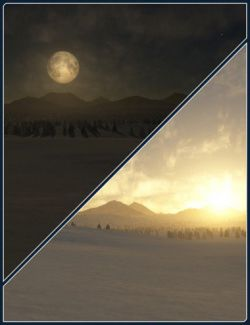 Easy Environments: Winter II Night & Dawn