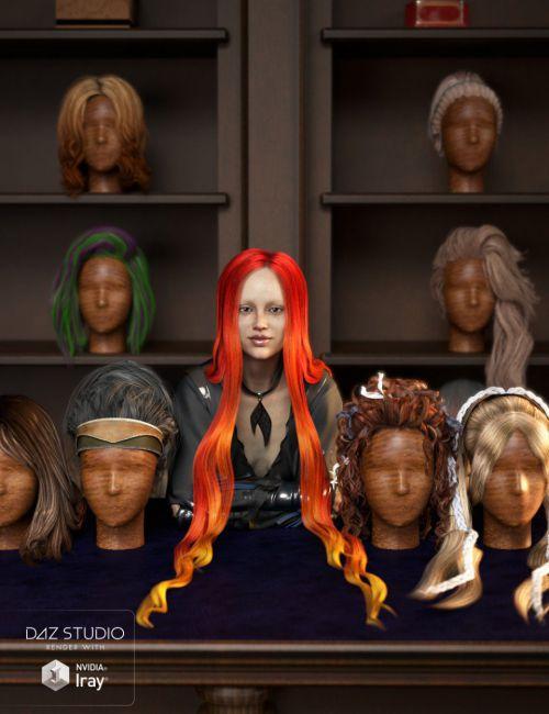 RSSY Hair Converter from Genesis 2 Female to Genesis 8 Female