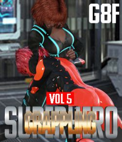 SuperHero Grappling for G8F Volume 5