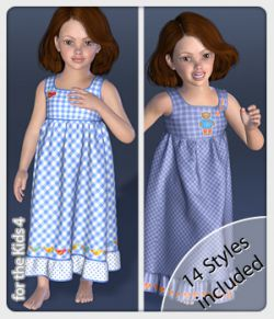 Lissy Dress and 14 Styles for the Kids 4
