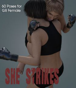 SHE STRIKES! for Genesis 8 Female