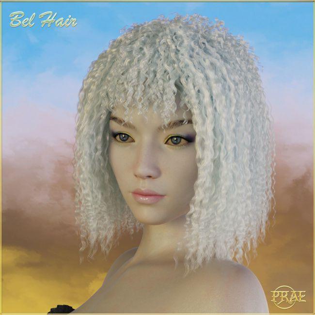 Prae-Bel Hair G3/G8 Daz